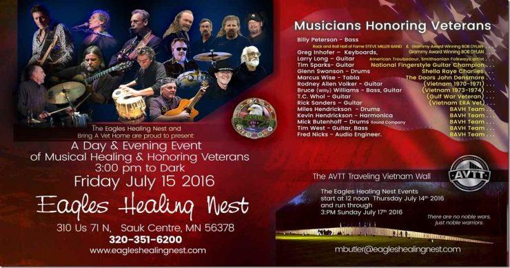 Eagles Healing Nest Veterans Celebration
